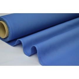 Véritable tissu gabardine bleu jean  .x1m