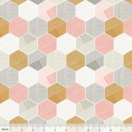 """Coton imprimé """"Sweet Dreams"""" de Maude Asbury by Blend Fabrics x25cm"""