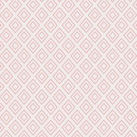 Tissu Popeline coton imprimé formes géométriques CHARLESTON ART GALLERY designer