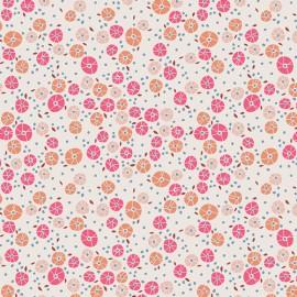 Popeline coton imprimé fleurettes CHARLESTON ART GALLERY designer .x1m