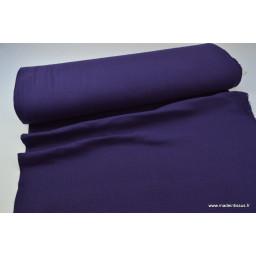 Double gaze coton violet x50cm