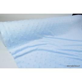 Tissu minky ETOILES CIEL x50cm