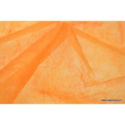 Non tissé déco mandarine 160 x 50cm