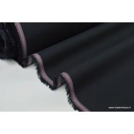 Popeline coton 3088 coloris noir01100%coton 145cm 114gr/m²