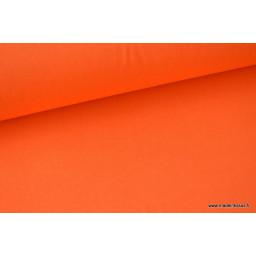 Tissu cretonne coton Terracotta par 50cm