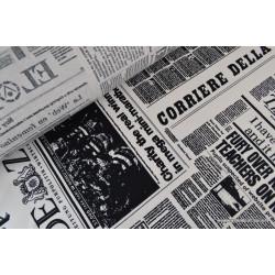 Cretonne coton imprimé Journal .x1m