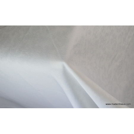 Tissu grande largeur écru anti taches pour nappes