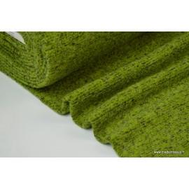 Lainage boucle Fenouil laine et alpaga x50cm