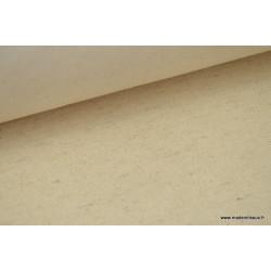Sergé rustique coton lin naturel .x 1m