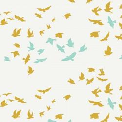 Popeline coton prenium imprimé oiseaux by Art Gallery Fabrics .x1m