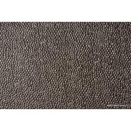Faux cuir BUBBLES Acier x50cm