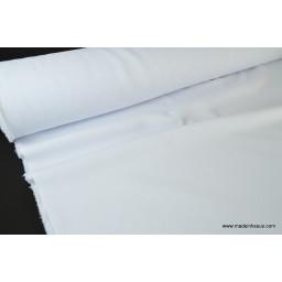 Tissu grande largeur blanc pour nappes x50cm