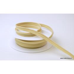 Passepoil 10 mm coton Beige