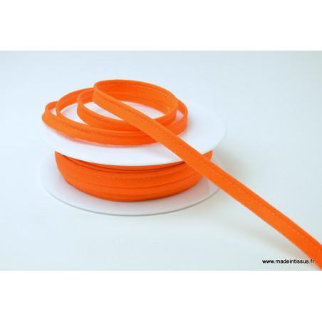 Passepoil 10 mm coton Orange