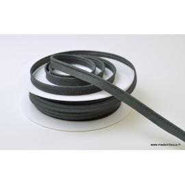 Passepoil 10 mm coton Gris