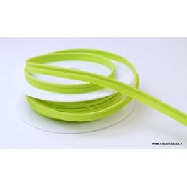 Passepoil 10 mm coton Vert Anis