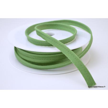 Passepoil 10 mm coton Vert Olive