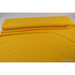 JERSEY coton élasthanne moutarde135 x1m