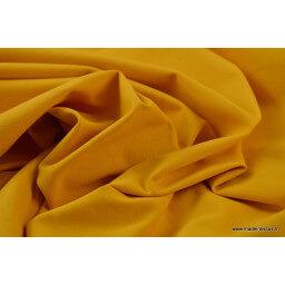 Tissu jersey coton oeko tex Moutarde