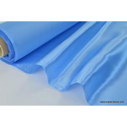 Tissu Doublure satin ciel polyester premier prix .x1m