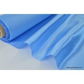 Doublure satin ciel polyester premier prix x50cm