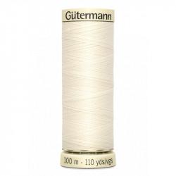 Fil pour tout coudre Gutermann 100 m - N°1