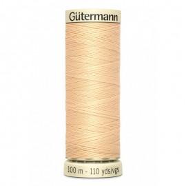 Fil pour tout coudre Gutermann 100 m - N°6