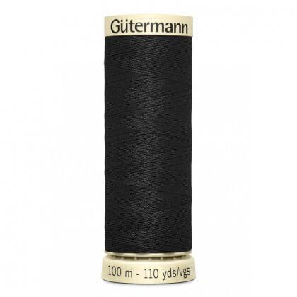 Fil pour tout coudre Gutermann 100 m - N°000