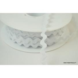 Serpentine Croquet uni Blanc 9mm x1m