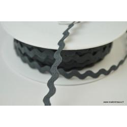 Serpentine Croquet uni Gris anthracite 9mm x1m