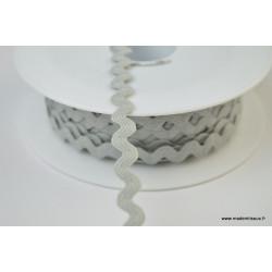 Serpentine Croquet uni Gris  9mm x1m