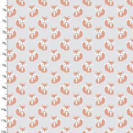 Coton imprimé Renards roux by 3 Wishes .x1m
