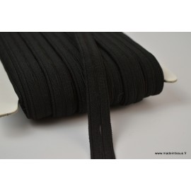 Boutonnière elastique 16mm coloris Noir