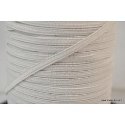 Elastique Maille 4mm Blanc