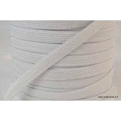 Elastique Maille 11mm Blanc