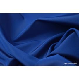 Taffetas changeant polyester bleu noir