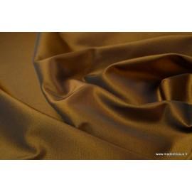 Tissu Taffetas changeant polyester noir or