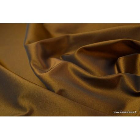 Taffetas changeant polyester noir or
