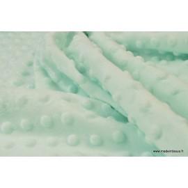 Tissu Minky - Doudou - Nicky