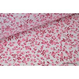 Tissu coton imprimé Fleurs et Liberty