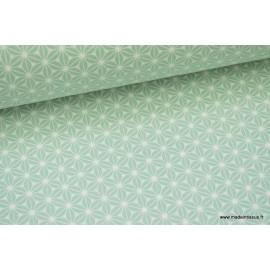 Tissu coton imprimé motifs Japonais