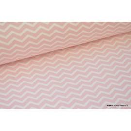 Tissu coton imprimé Chevrons