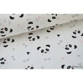 Tissu coton imprimé motifs enfantins