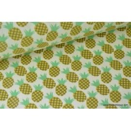 Tissu coton imprimé Fruits