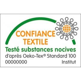 Tissus coton labellisés OEKO-TEX