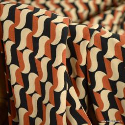 Tissus motifs Graphiques