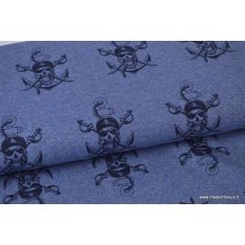 Tissus motifs Pirates