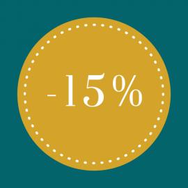 Tissus à -15%