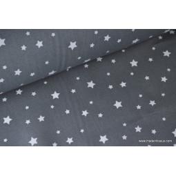 Tissu coton imprimé Etoiles